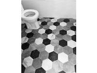 Hexagonal Topps Tiles