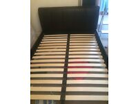 Kingsize Leather Bed - EXCELLENT CONDITION