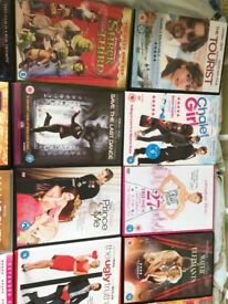 Selection of dvds as shown