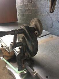 vintage manual bench grinder made in england £15