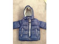 Mini Boden Boys blue Coat