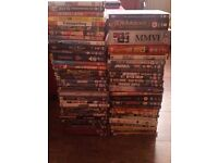 59 assorted DVDs job lot (comedy, action, horror, family, music)