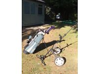 Golf Clubs Golf Bag & Golf Trolley