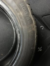 Uniroyal RainSport Tyre 205/55/R16 V 6mm thread depth