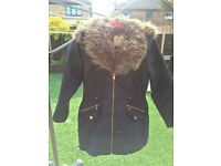 Gir's Winter Coat age 10-11 years