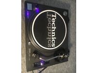 Technics 1210 MK2 with Dust cover