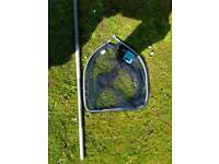 Landing net and pole