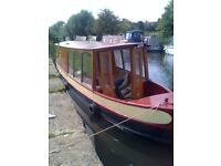 Stunning Historic Liveaboard Boat with Central London Mooring