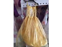 Belle dress and accessories