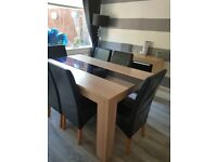 Dinning table & chairs if wanted