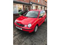 2005 VW Polo 1.2 Full Year Mot