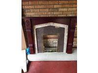 FREE Fire Place Surround and Hearth