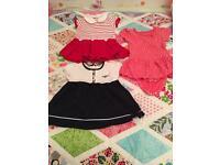 Brandnew babygirl dress bundle