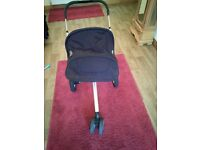 Quinny buzz pram silver chassis