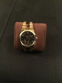 Michael Kors watch gold and turtle