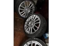 """Alloy wheels multi fit 17"""""""