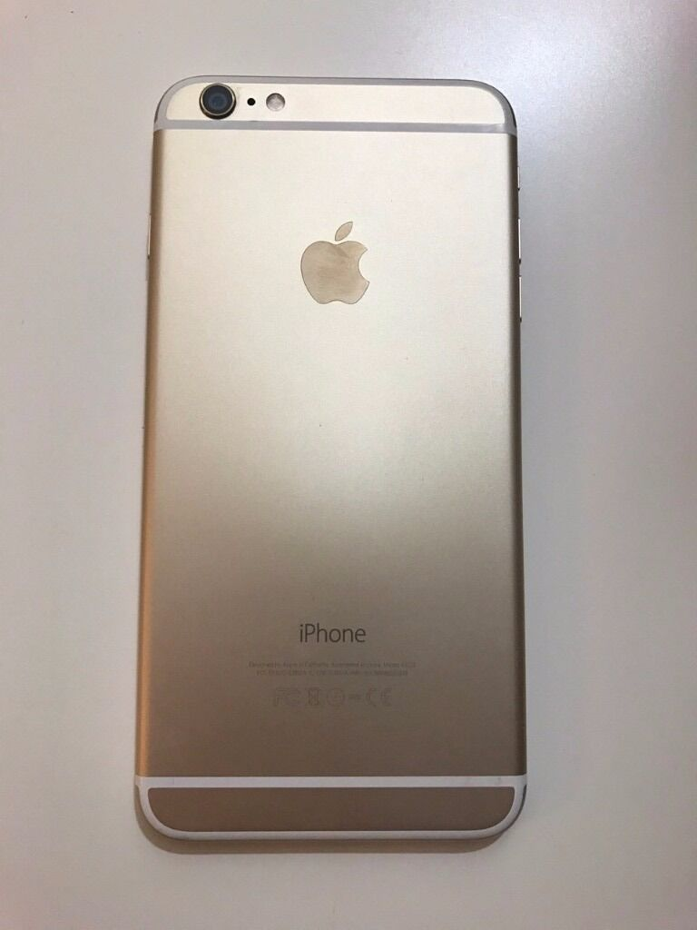 Apple iPhone 6 Plus 16GB Gold Vodafone Network Excellent Conditionin Harrow, LondonGumtree - Apple iPhone 6 Plus 16GB Gold Lock to Vodafone Network but can be unlock easily from Vodafone in Excellent Condition handset only with usb cable no original box included no wall charger included PLEASE NO OFFER