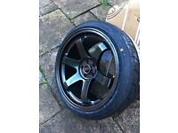 Rota grid drift 18 alloy wheels impreza