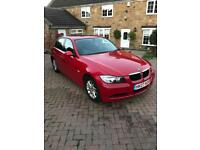 2007 07 bmw 318i se superb spec climate control and e/sunroof in bright red