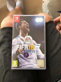 Fifa 18. Nintendo Switch.