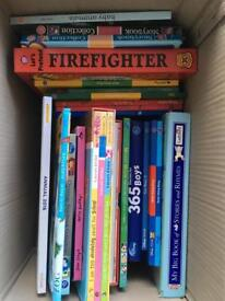 Big boxes of children's books!