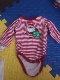 Baby 1st Christmas vest & jogger