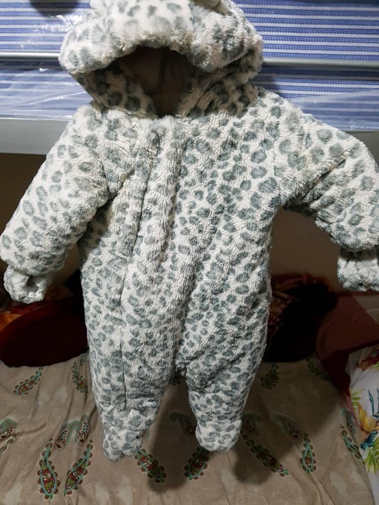 Baby boy snow suit