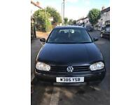Volkswagen golf mk4 in excellent condition
