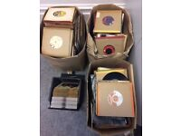approx 800 various singles for sale (mostly late 60s, 70s, 80s) - £200 ovno
