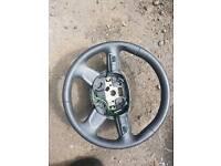 Audi steeringwheel