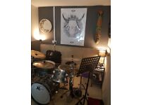 Monthly hire rehearsal space for bands N4 Manor House