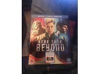 Star Trek Beyond. Brand new Blu Ray DVD