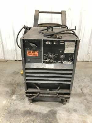 Lincoln Idealarc R3r-400 Variable Voltage Dc Arc Stick Welder 400a 36v