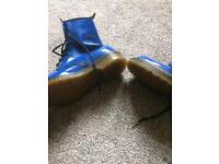 Electric Blue Dr Martens size 4