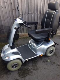 INVACARE ORION 8mph MOBILITY SCOOTER