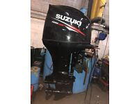 2015 Suzuki 200HP EFi Fly Be Wire 4-Stroke Extra Long Shaft Outboard DF200AP