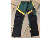 Genuine STIHL protect brushcutter trousers