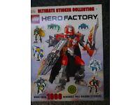 Lego hero factory sticker book