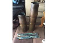 Trench art bullet casings