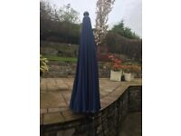 LARGE GARDEN PARASOL AND CUSHIONS. BRAND NEW !