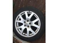 "genuine land rover 19"" alloy wheel"