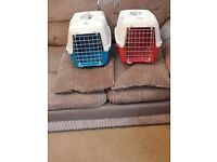 Cat carry case x2 like new