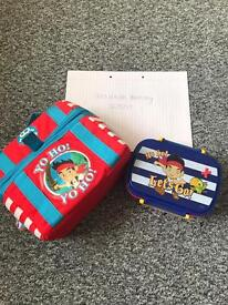 Jake and the neverland pirates lunch bag and box