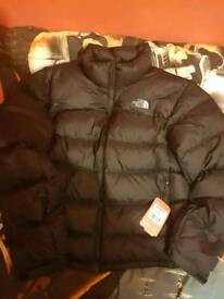 Men's North Face Puffa Size Large