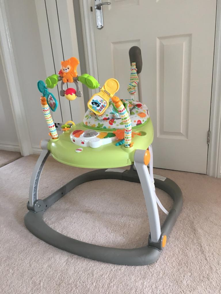 9aa6aa58cc8e Fisher price space saver jumperoo