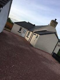 FOR SALE 2 Bedroom Cottage, Fearn, Tain. Newly refurbished.