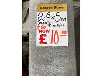 Silver carpet rollend cheap