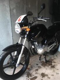 Yamaha ybr 125 REALLY LOW MILES