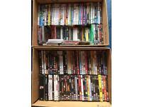 DVDs & CDs - 100+