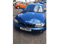 Blue BMW 2006 2.0 Diesel for £2,700